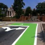 Athens First Green Lane / Bike Box